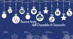 Auguri di buone feste dall'Ospedale Sassuolo
